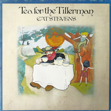 Cat Stevens – <cite>Tea for the Tillerman</cite> album art