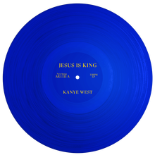 Kanye West's <cite>Jesus Is King</cite> album art, movie poster and merchandise