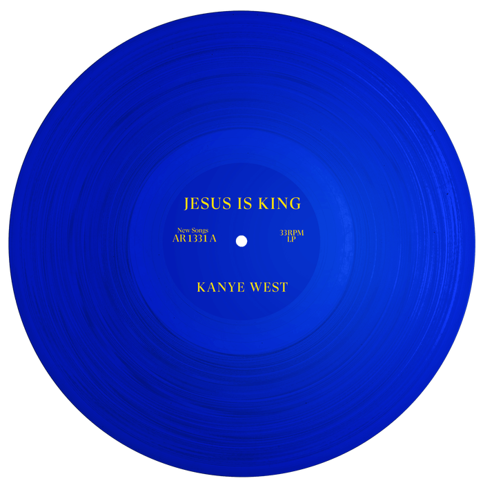 Kanye West's Jesus Is King album art, movie poster and merchandise 1