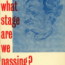 <cite>Through What Stage Are We Passing?</cite> by L.D. Trotsky