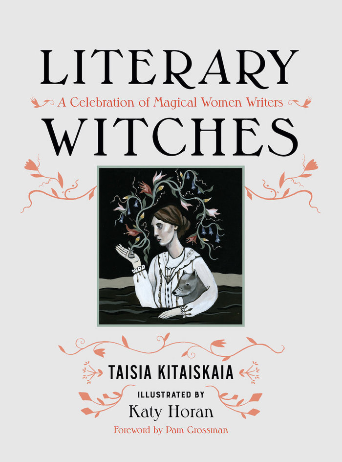 Literary Witches book cover