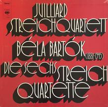 Juilliard Streichquartett, Béla Bartók – <cite>Die Sechs Streichquartette</cite> album art