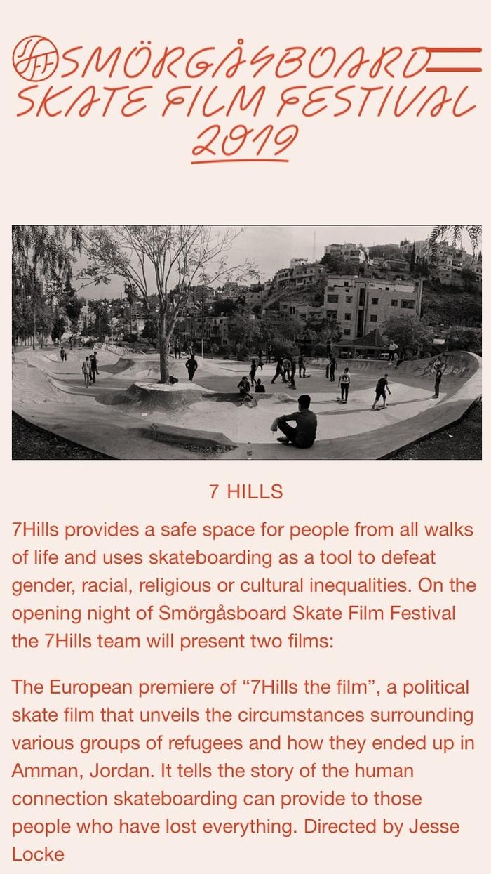 Smörgåsboard Skate Film Festival 2019 8