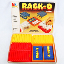 Rack-o card game (1975)