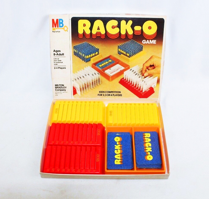 Rack-o card game (1975) 2