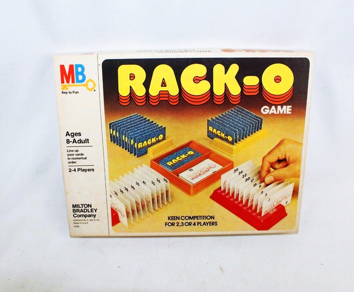 Rack-o card game (1975) 3