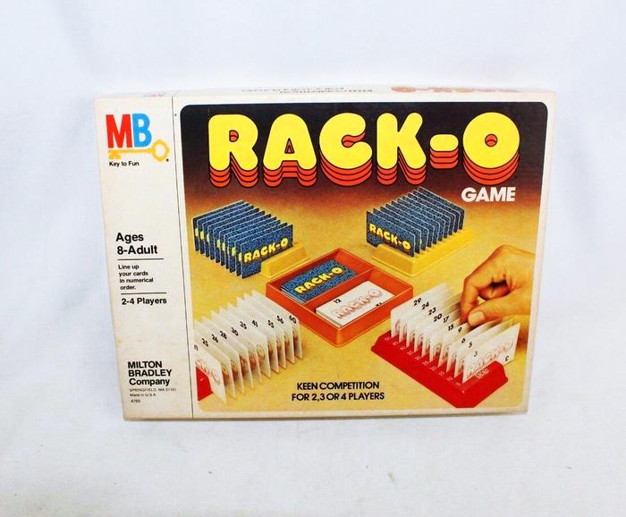 Rack-o card game (1975) 3