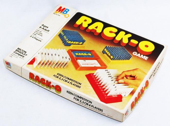 Rack-o card game (1975) 1