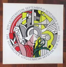 Roy Lichtenstein at the Guggenheim, 1969