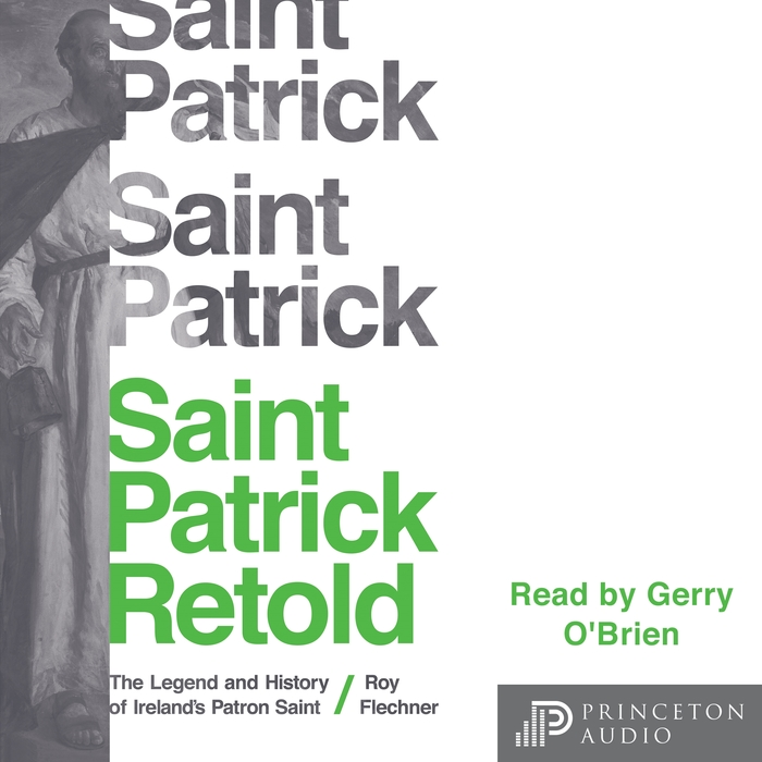 Cover adaptation for the audio book, read by Gerry O'Brien.