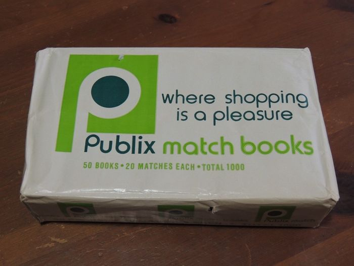 A modern day Publix. The company has started to give the letters in their logo a very wide spacing, which I see as a poor choice.