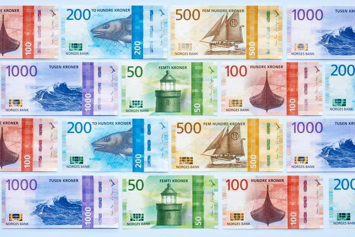 Norwegian banknotes (2014–2019) 6