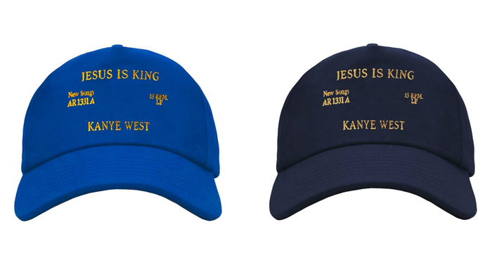 Kanye West's Jesus Is King album art, movie poster and merchandise 6