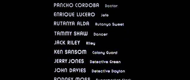 The Long Goodbye opening & end credits 11