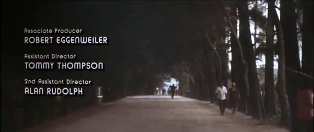 The Long Goodbye opening & end credits 7