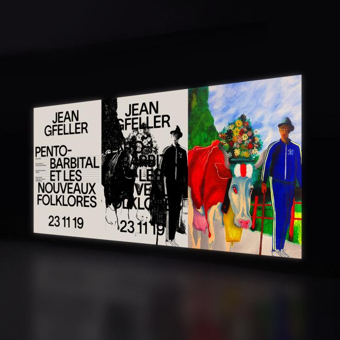 Jean Gfeller – Pentobarbital et les nouveaux Folklores 1