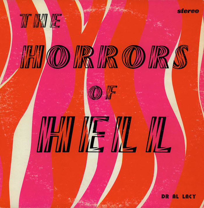 Dr. Al Lacy – The Horrors Of Hell album art