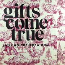 """Gifts come true"", Holt Renfrew campaign"