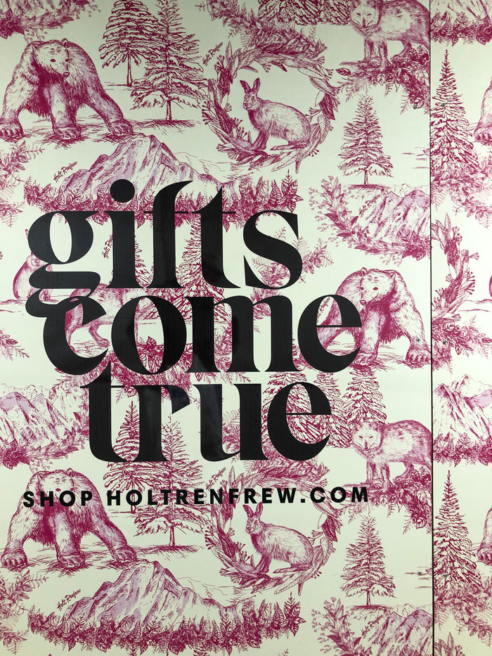 """Gifts come true"", Holt Renfrew campaign 1"