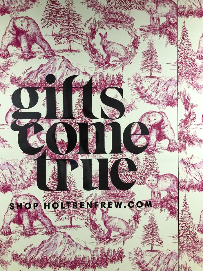 """Gifts come true"", Holt Renfrew campaign 1"