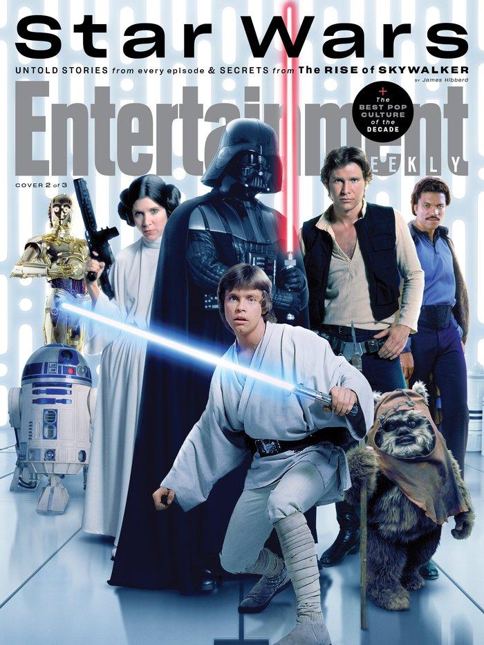 """Entertainment Weekly magazine, """"Star Wars"""", Dec2019 1"""