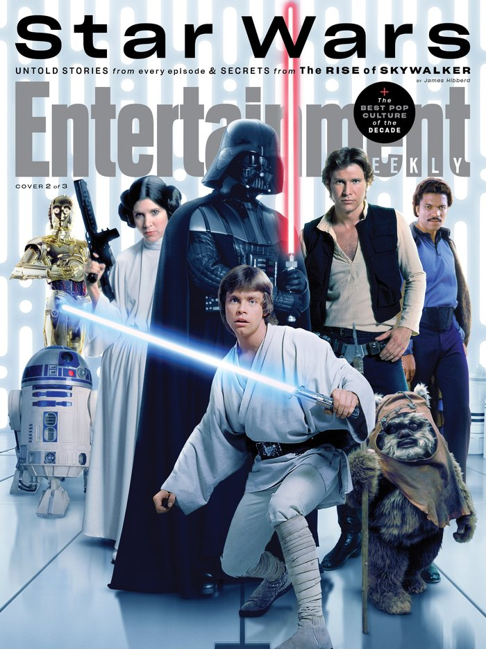 "Entertainment Weekly magazine, ""Star Wars"", Dec 2019 1"