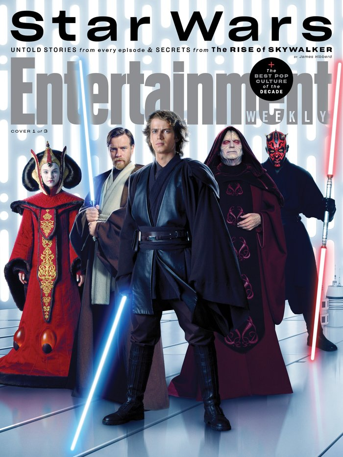 "Entertainment Weekly magazine, ""Star Wars"", Dec 2019 2"