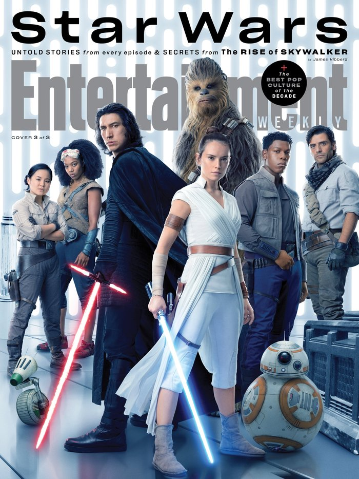 "Entertainment Weekly magazine, ""Star Wars"", Dec 2019 3"