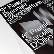 <cite>9a Rassegna Biennale d'Architettura</cite> catalogue and poster