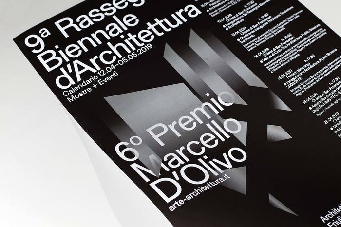 9a Rassegna Biennale d'Architettura catalogue and poster 11