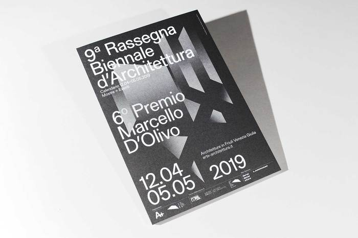 9a Rassegna Biennale d'Architettura catalogue and poster 2