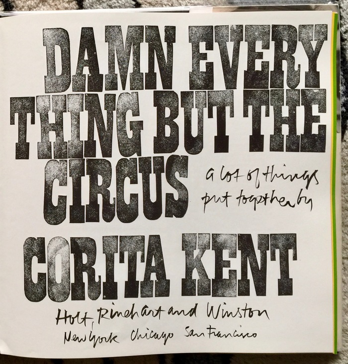 Damn Everything but the Circus 2