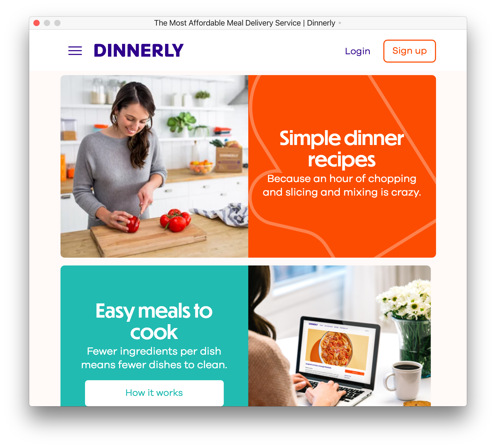Dinnerly - Fonts In Use