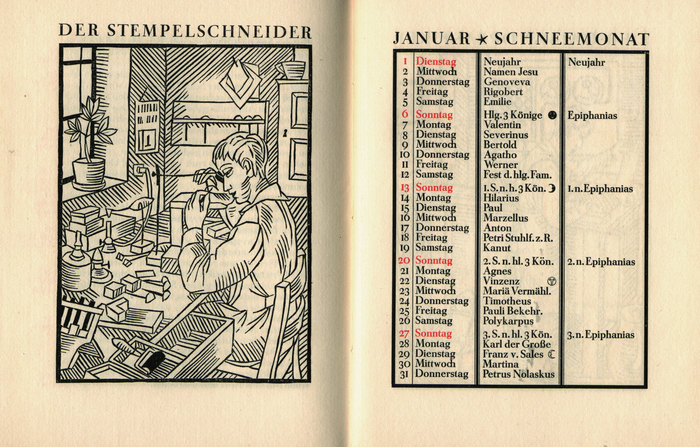 Klingspor-Kalender 1924 1
