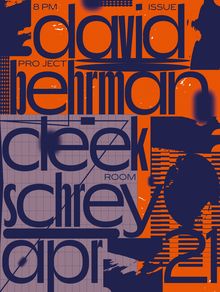 David Behrmann & Cleek Schrey, Issue Project Room, New York