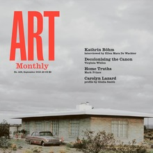<cite>Art Monthly</cite> magazine, UK