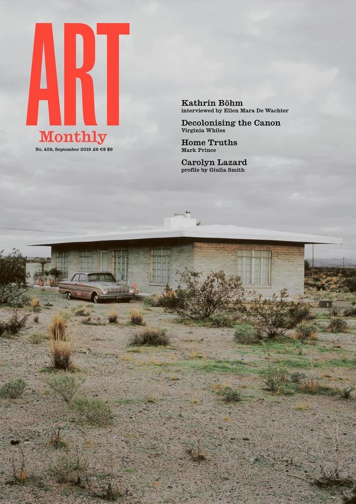 Art Monthly magazine, UK 1