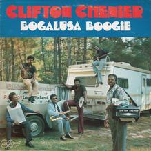 Clifton Chenier – <cite>Bogalusa Boogie</cite> album art