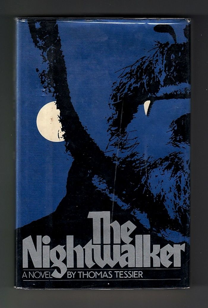 The Nightwalker – Atheneum book jacket 1