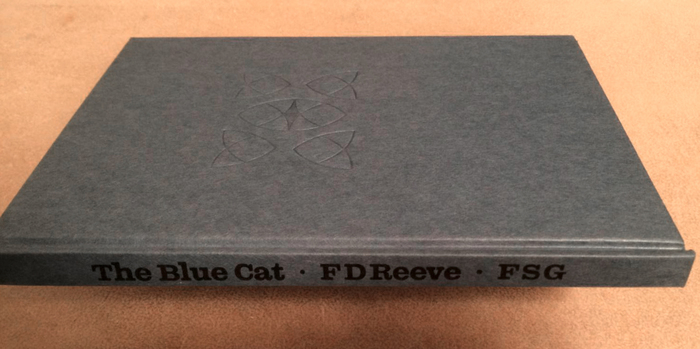 The Blue Cat. Poems by F.D. Reeve 2