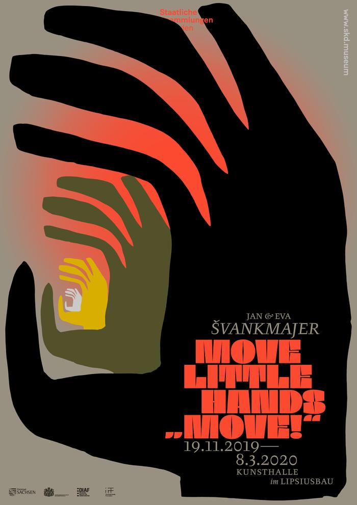 "Move little hands … ""Move!"", Kunsthalle im Lipsiusbau 1"