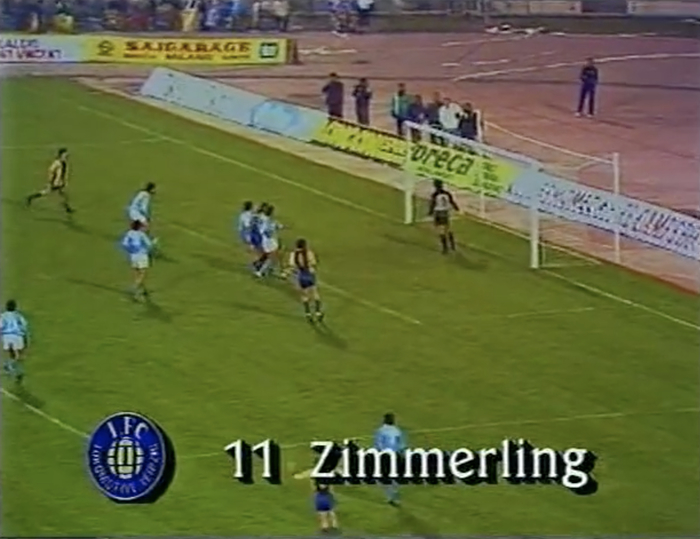 Leipzig's Zimmerling scores 1:0
