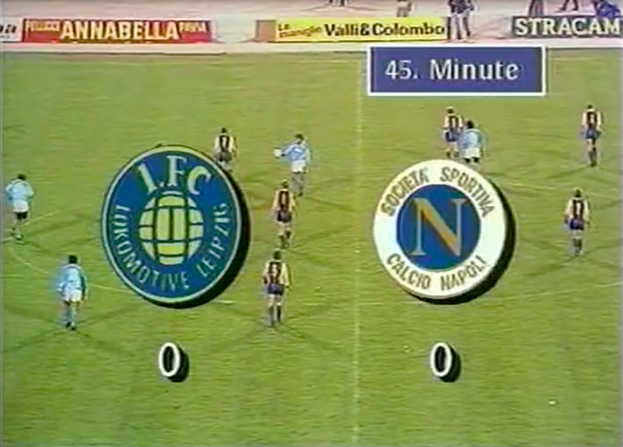 Lok Leipzig – SSC Napoli (GDR television, 1988) 2