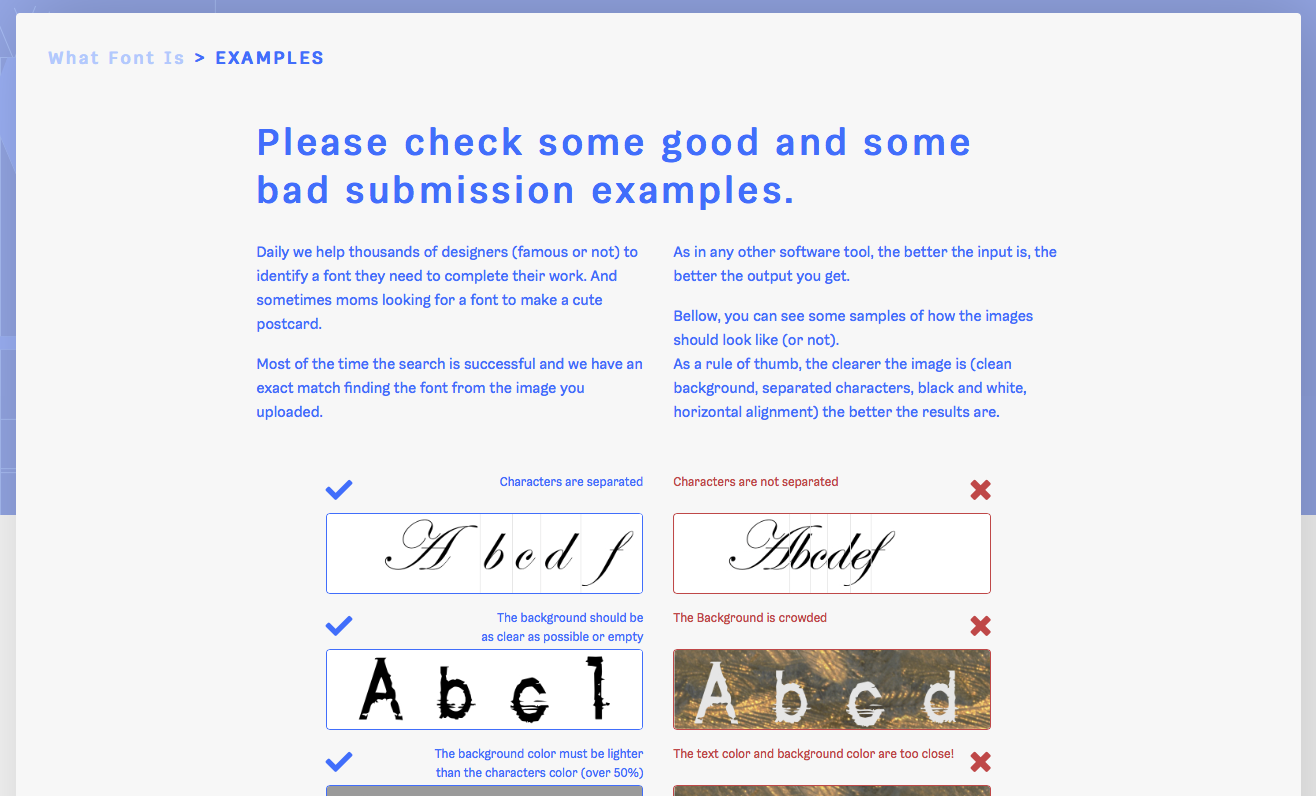 WhatFontIs (2019) - Fonts In Use