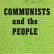 <cite>Communists and the People</cite> by Elizabeth Gurley Flynn