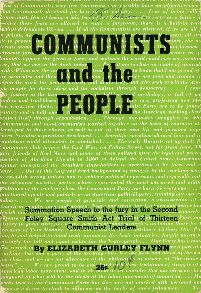 Communists and the People by Elizabeth Gurley Flynn