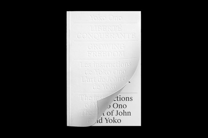 Yoko Ono – Growing Freedom exhibition and catalog 1