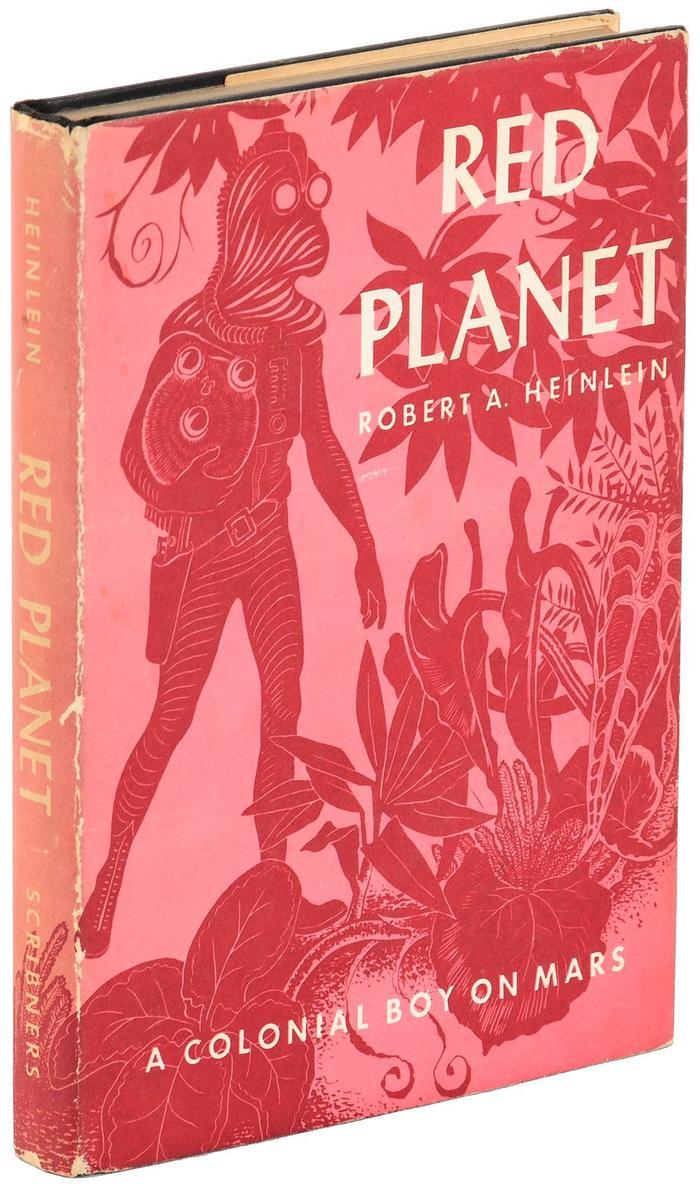 Red Planet by Robert A. Heinlein (Scribner's) 4