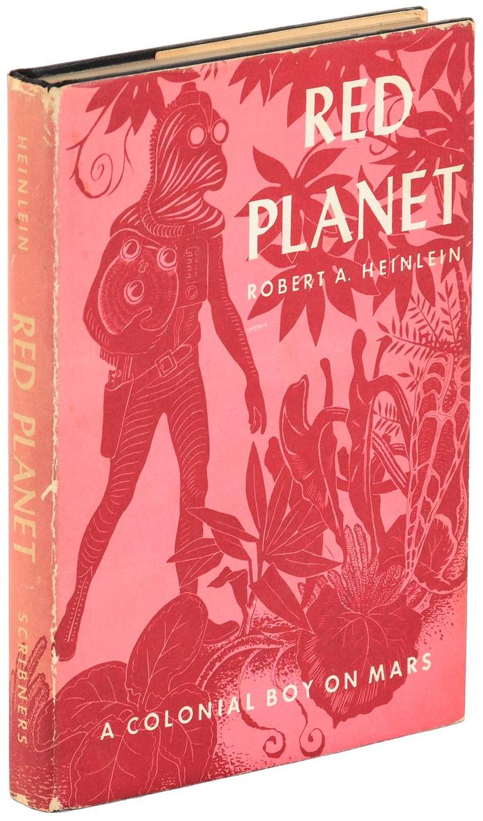 Red Planet by Robert A. Heinlein (Scribner's) 4