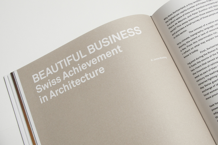 Swiss Sensibility. The Culture of Architecture in Switzerland 3